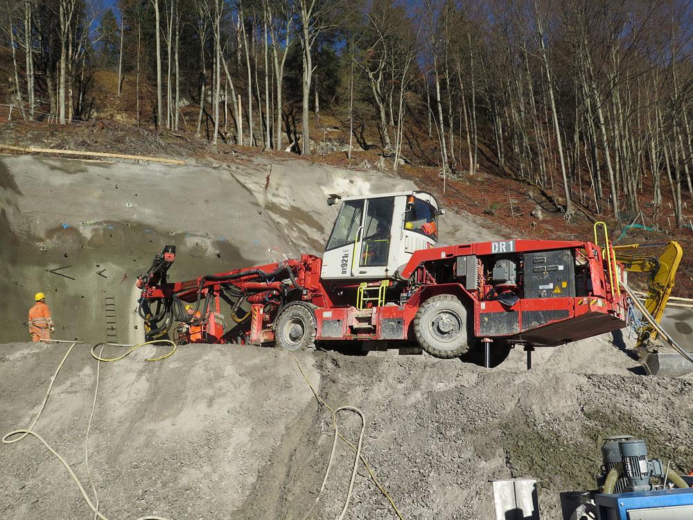 Cestný tunel Oberau