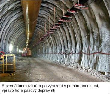 Tunel Bibra - raziace práce