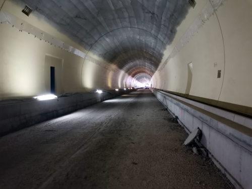 Diaľnica D1 Prešov západ - Prešov juh, požiarny vodovod v tuneli