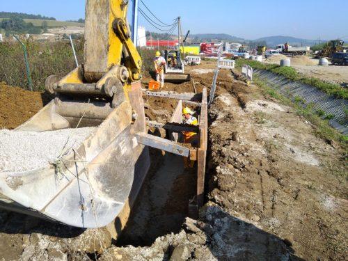 Technická infraštruktúra priemyselného parku v Čadci