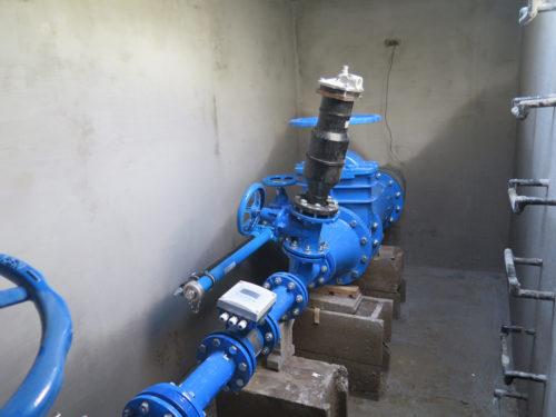 Výtlačný rad tlakovej kanalizácie Presskan